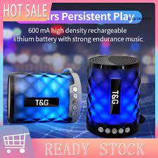 Loa Bluetooth Mini Nhiều Màu Tg155 Có Đèn Led - Loa Bluetooth