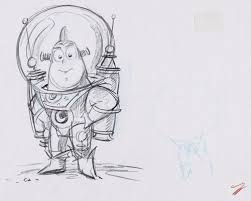 john lasseter drawing. Modren Lasseter U201cJohn Told Us To Think Of Buzz As A Cop Who Got Flat Tire In Podunk On  His Way Save The Galaxyu201d On John Lasseter Drawing