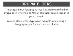 Bootstrap Paragraphs For Drupal 8