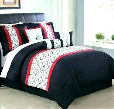 black white grey quilt cover red and comforter light blue bedspread bedding medium size of design
