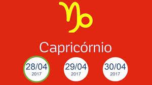 Signo Hoje Capricórnio - 28 29 30 de Abril 2017 - YouTube