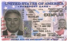 Us Passport Card Template Passports And Mexico Entry Requirements For Children
