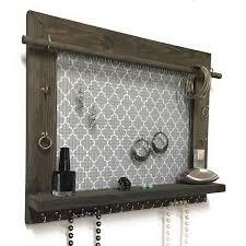 Jewelry Wall Organizer Closet Inset Necklace Cabinet Airmaxtn