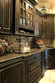 rustic painted kitchen cabinets d distressed black kitchen cabinets rustic secret to distress painted kitchen cabinets