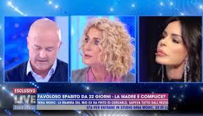 Nina Moric e madre Luigi Favoloso: scontro a Live Non è la D ...