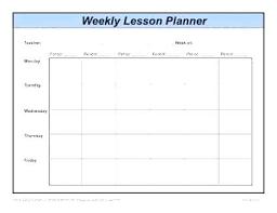 Lesson Plan Printable Template Free Lesson Plan Book Template Daily Lesson Plans Free Template