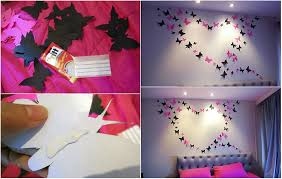 on pretty wall art decor with bright and beautiful butterfly wall art
