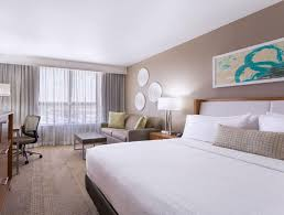 a bed or beds in a room at holiday inn miami west airport area