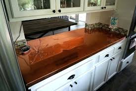 copper kitchen countertops hammered home design ideas pictures