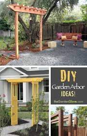 DIY Garden Arbor Ideas!  Learn how to build a simple garden arbor!