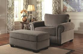 gray oversized chair. Delighful Gray Swank Alloy Gray Oversized Arm Chair And Ottoman Emelen Collection And N