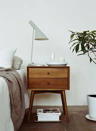 ideas bedside tables pinterest night: my ideal home photo middot bedroom bedside tablewooden