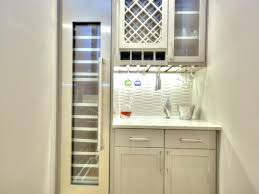 Kitchens With Wine Racks Refrigerator Wine Rack Kitchen Easy Tips For Install