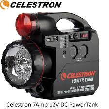 Charging Battery Light Celestron 7amp 12v Dc Powertank