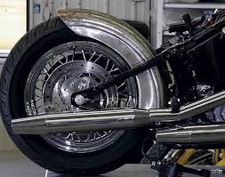 taking stock out of a softail rear fender