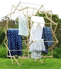 diy drying rack ditch the clothesline for a expanding star drying rack outdoor