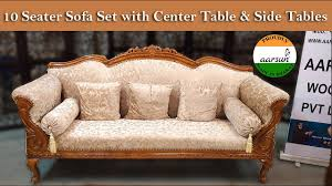 yt446 10 seater sofa set with center