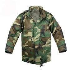 Kids M 65 Woodland Camo Field Jacket Clearance