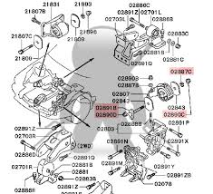 mitsubishi oem 3000gt stealth driver side engine mount horizontal additional shipping applies if this is the only item purchased please add below