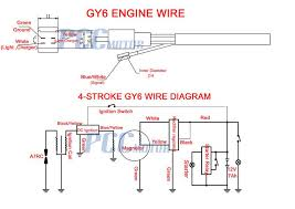 50cc 150cc moped gy6 wire diagram 50cc scooter wiring diagram at 50cc Scooter Horn Wiring Diagram