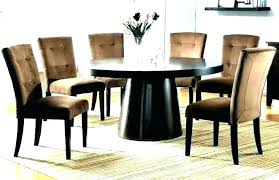 round dining table 6 chairs seater circular size for what should i rustic chic design