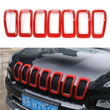2018 jeep accessories. delighful jeep image is loading fit20142018jeepcherokeefrontgrilleinserts for 2018 jeep accessories t