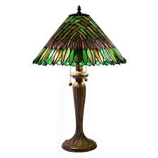 tropical table lamps. Warehouse Of Tiffany Tropical Leaves 25 In. Bronze Stained Glass Table Lamp Lamps B