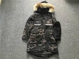 ... Canada Goose Snow Mantra Parka Camo Down Jacket ...