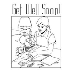 Search through 51910 colorings, dot to dots, tutorials and silhouettes. Top 25 Free Printable Get Well Soon Coloring Pages Online