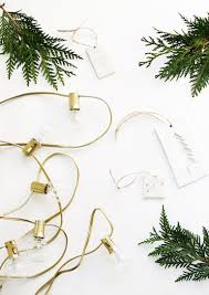 Is It Safe To Spray Paint Christmas Lights Diy Painted String Lights The Merrythought
