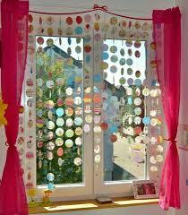 Vorhang Aus Transparentpapier Crafts Diy Kinder Vorhänge