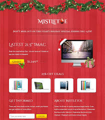 newsletter template for pages more christmas holiday landing page email newsletter templates