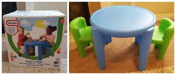 brag worthy little tikes table chairs review littletikes1