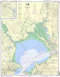 Noaa Chart 18654 San Pablo Bay