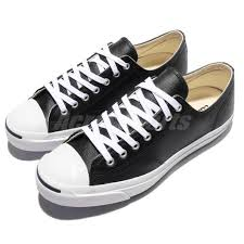 converse jack purcell leather ox black jp men women casual shoes sneakers 1s962