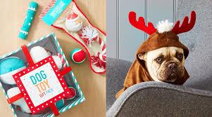 Christmas dog gift set. $8  SHOP NOW   Christmas dog stocking. $4  SHOP  NOW   Christmas reindeer costume. $5  SHOP NOW. Howliday Gifts