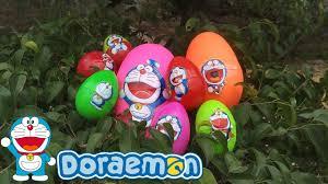 Săn và Bóc Trứng Doraemon, Hunting Doraemon Egg Toy and Opening - ❤ Bảo Bảo  TV ❤ - YouTube