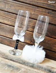 diy glasses wedding crafts darice 1