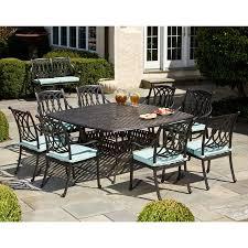 elegant patio furniture. Elegant Square Patio Dining Table Room Furniture 8 Seat Vidrian With Outdoor E