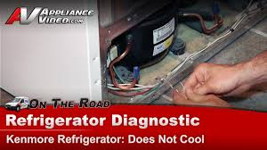 kenmore whirlpool refrigerator not cooling or freezing diagnostic repair you