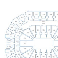 Kfc Yum Center Seating Chart With Rows Up To Date Yum Center Virtual Seating Chart 2019