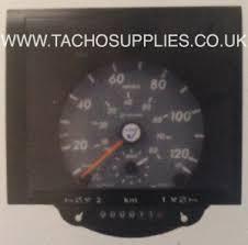 mercedes benz tachographs vdo tachograph vario 1318 vdo analogue tachograph head gray speed scale black bezel