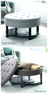set source beadboard coffee table nesting stools storage ottoman 5 piece stool