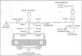 mustang wiring diagram mustang grille w gt style angel eye fog lights 05 09 v6 refer to the wiring