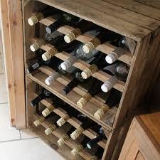wine crate furniture. Apple Crate Wine Rack (15 Bottle) Natural Furniture