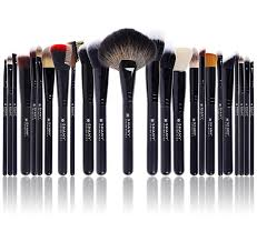 best professional makeup brush set. amazon.com: shany pro signature brush set 24 pieces handmade natural/synthetic bristle with wooden handle, the masterpiece: shany: beauty best professional makeup amazon.com