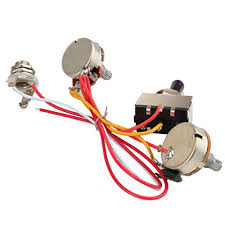 electric guitar wiring harness kit 3 way toggle switch 1 volume 1 electric guitar wiring harness kit 3 way toggle switch 1 volume 1 tone 500k pots