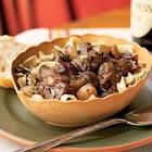 autumn beef cranberry stew