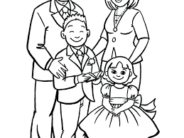 coloring pages of families family coloring pages coloring book pictures of family
