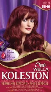 wella koleston hair dye kit 55 46 exotic red in uae